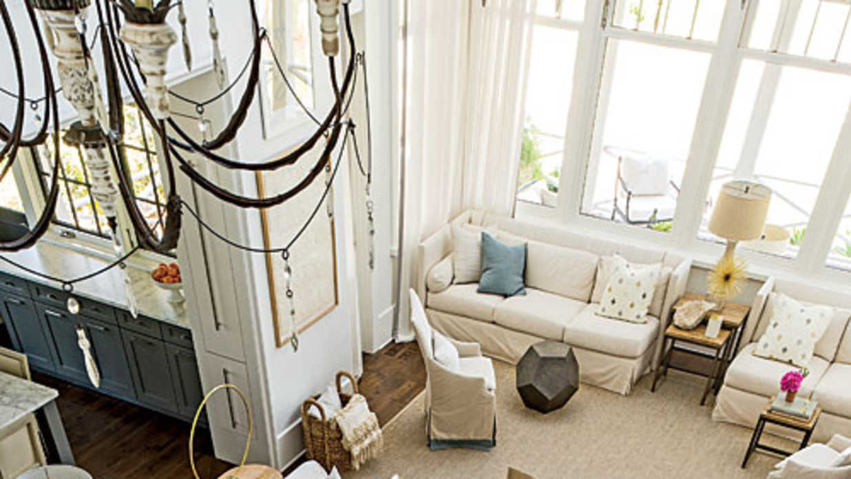 Organizing Open Floor Plans Southern Living