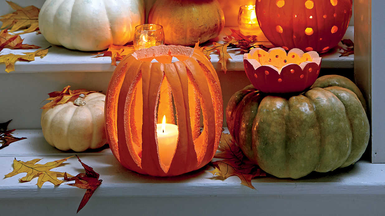 33 halloween pumpkin carving ideas southern living - Pumpkin Halloween Carving