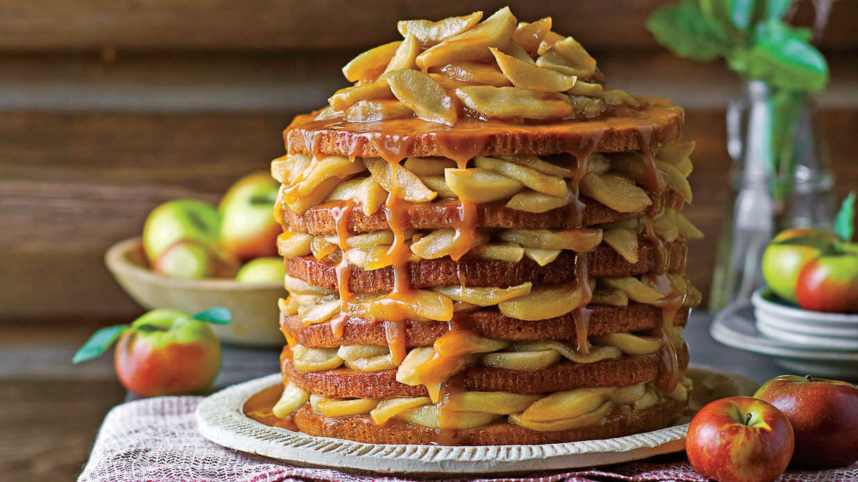 Old Fashioned Southern Style Caramel Cake