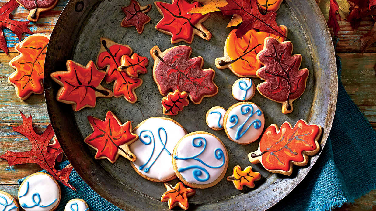 Fall Cookie and Bar Recipes