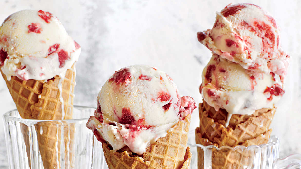 30 Homemade Ice-Cream Recipes
