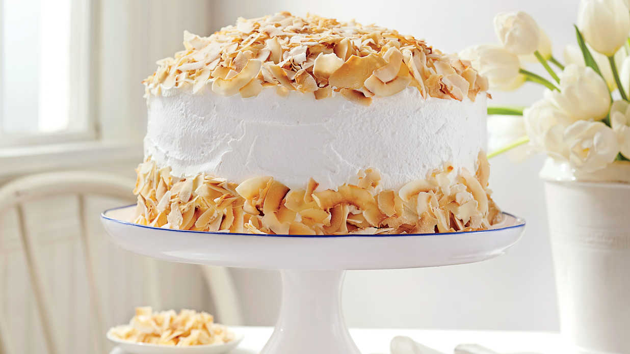 Southern Living Coconut Chiffon Cake