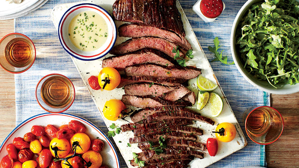 Sizzling Flank Steak Recipes