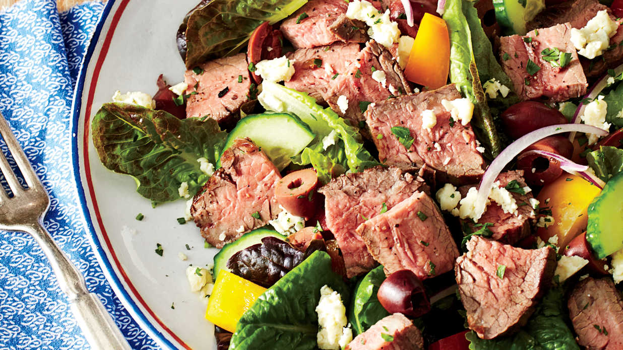Chopped Salad With Steak July 2015 Recipes Southern Living