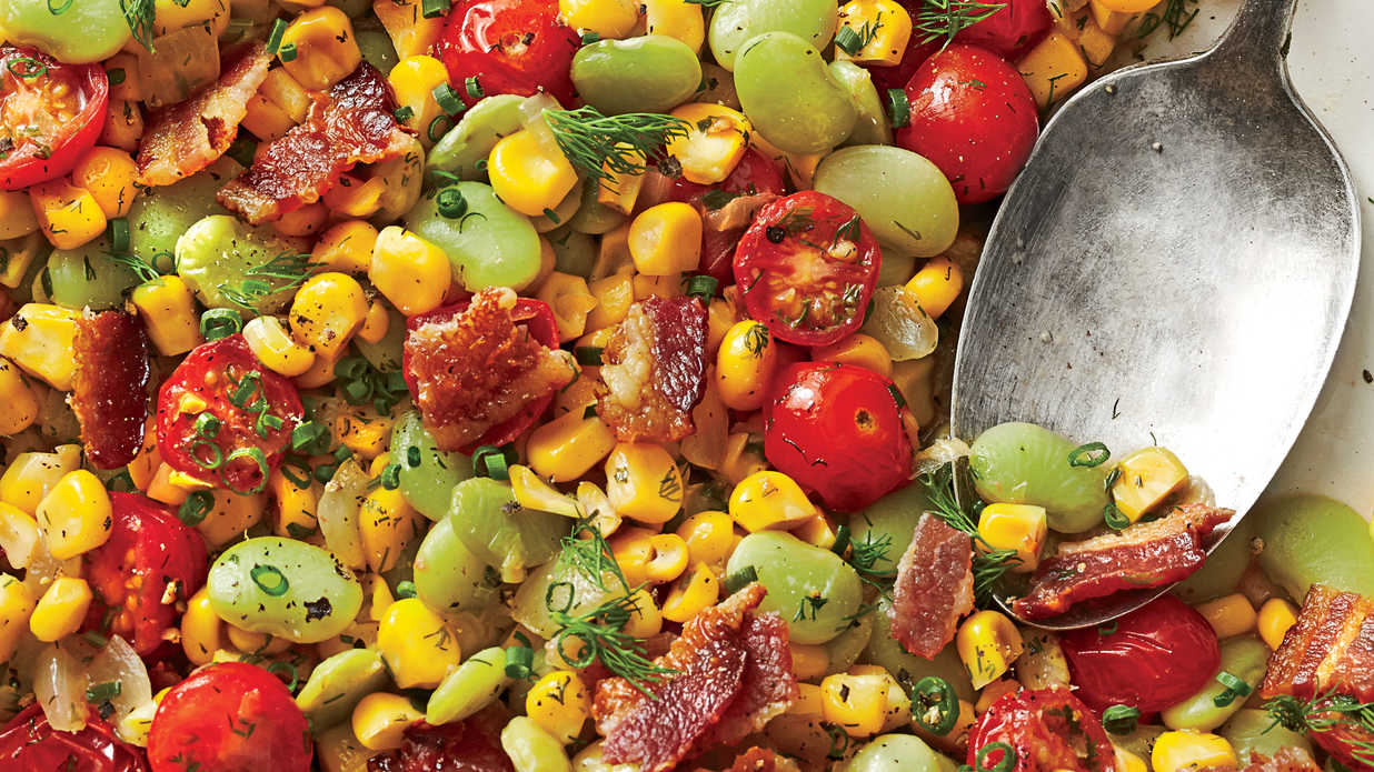 Classic Succotash July 2015 Recipes Southern Living