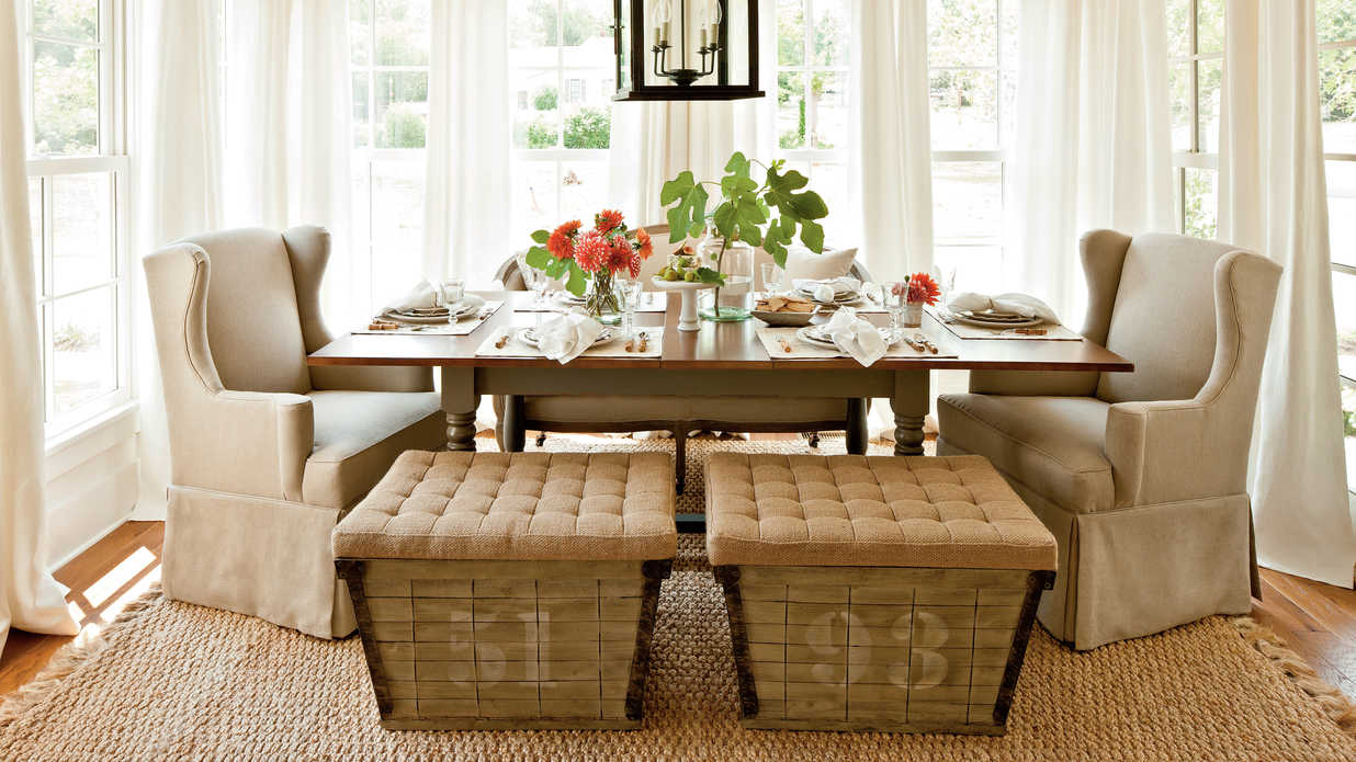 Farmhouse Renovation Dining Room - Southern Living