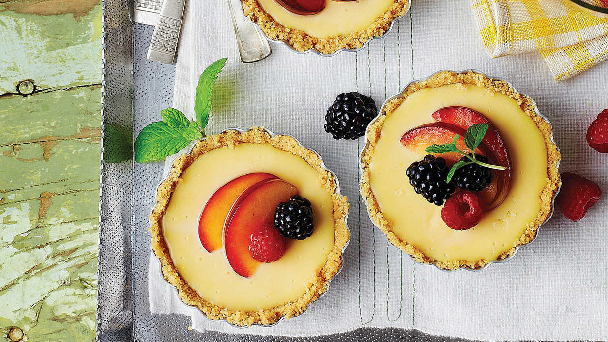 Lemon Mascarpone Icebox Tarts Quick Summer Pie Recipes