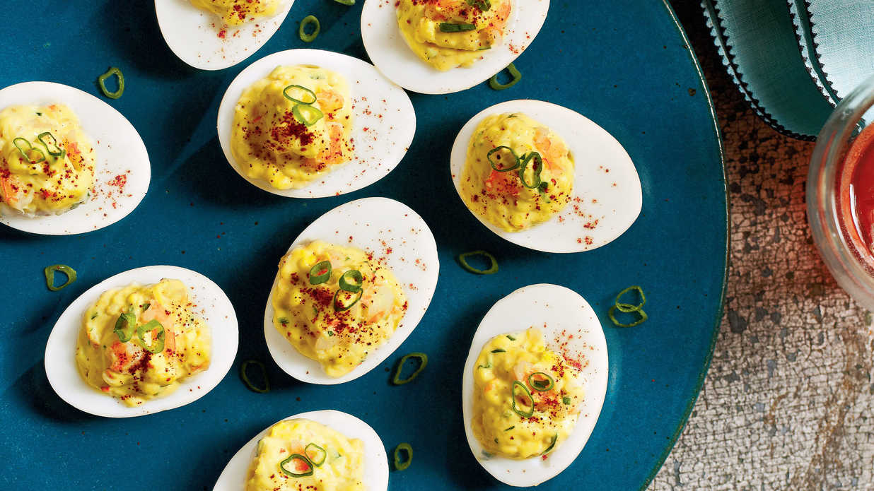 20 Ways with Deviled Eggs