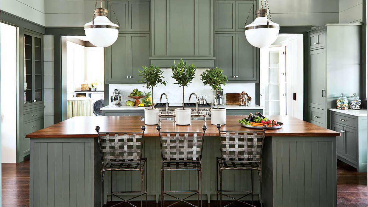 Southern Living Kitchens Nashville Idea House Kitchen Southern Living