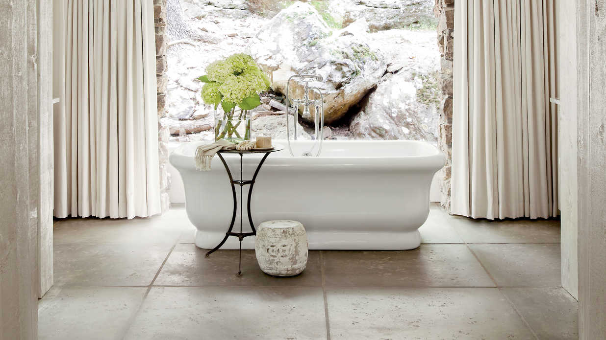 Calming Bathroom Retreats Southern Living - Examples of bathroom designs