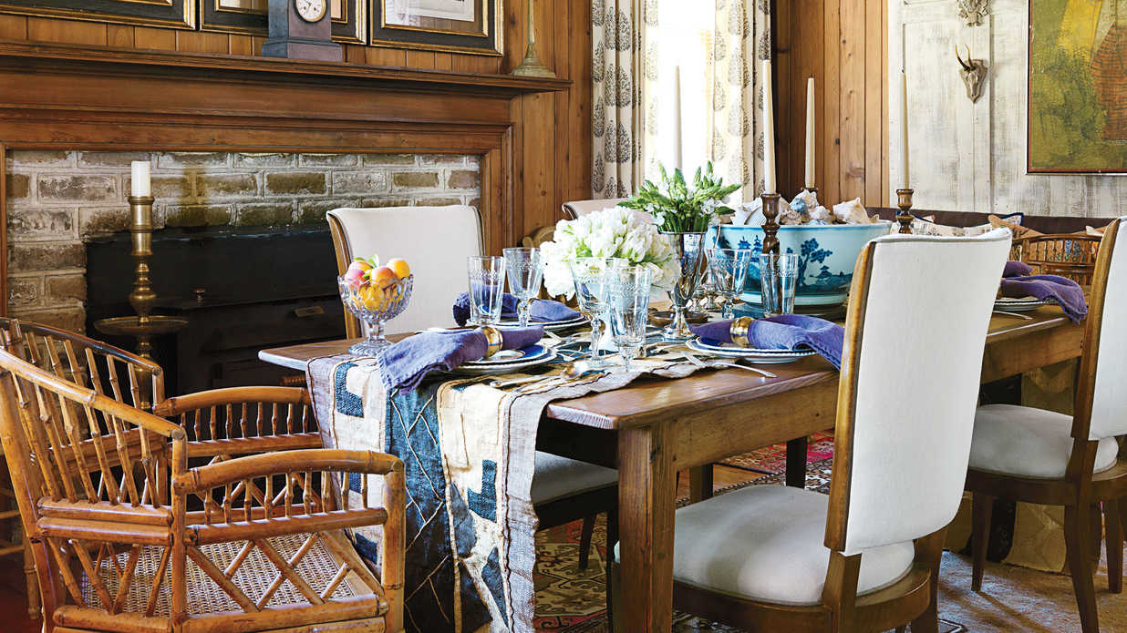 Be Creative Stylish Dining Room Decorating Ideas Southern Living