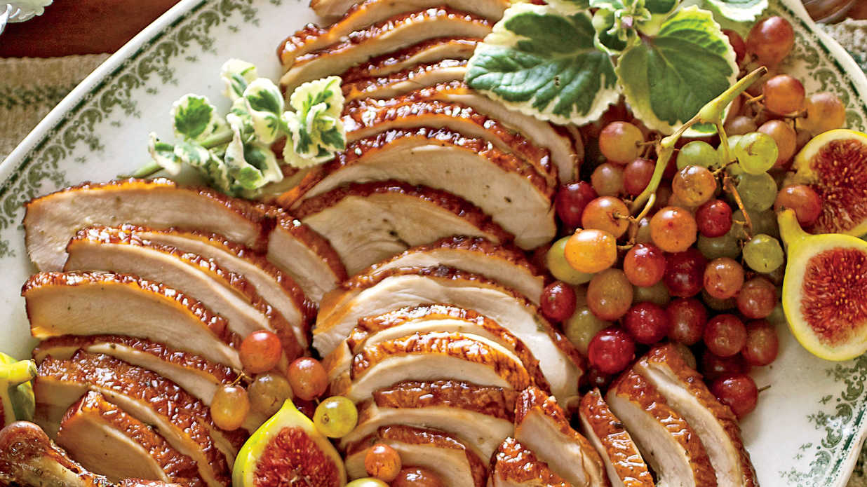 Smoked Turkey Breast Thanksgiving Main Dish Recipes