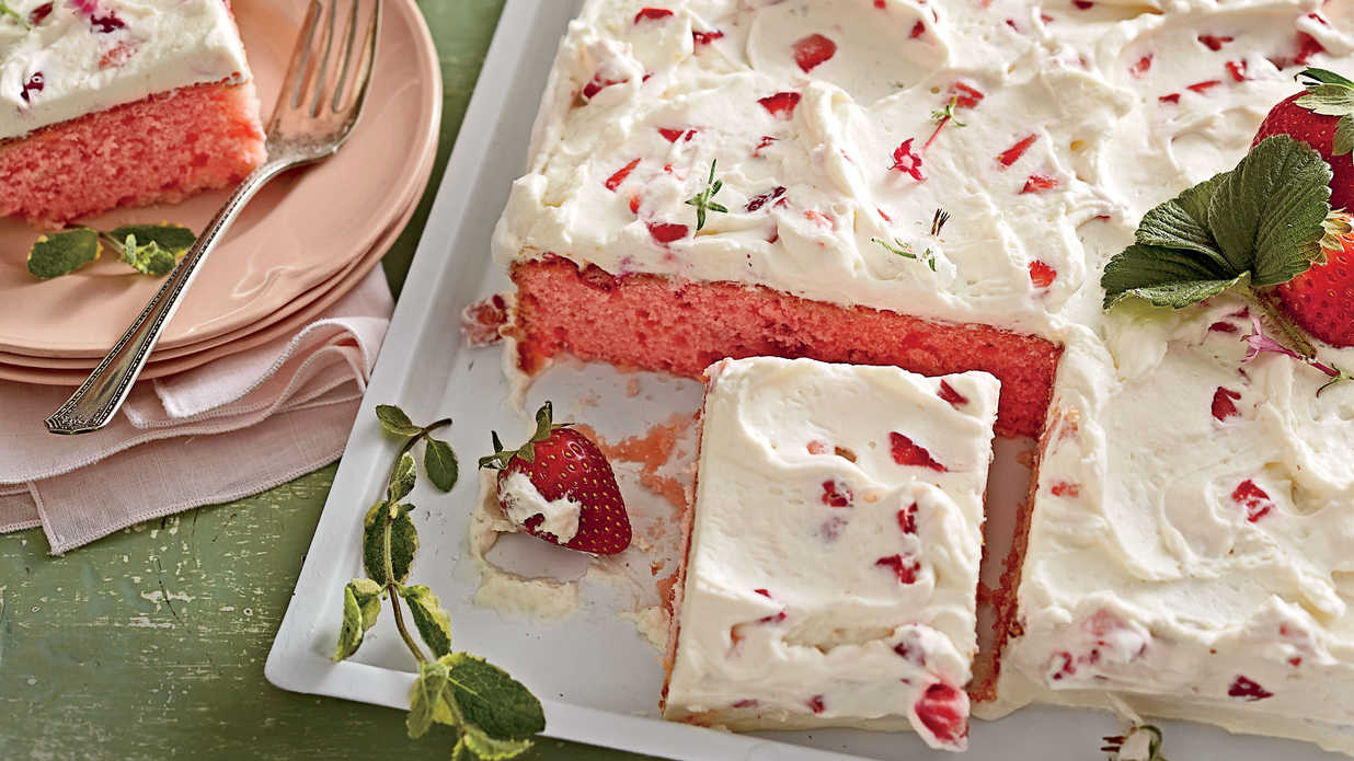 9x13 Cake Recipes So Good You Might Never Make A Layer Again
