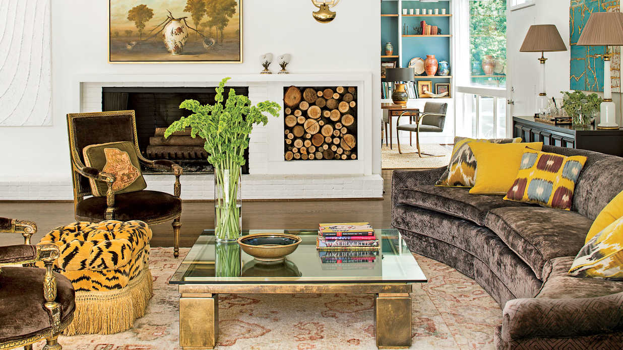 Southern Living Living Room Mix Mod And Traditional 106 Living Room Decorating Ideas