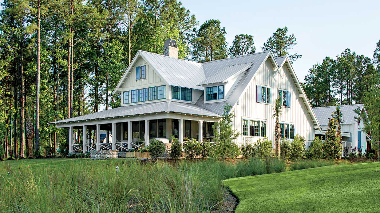 Palmetto bluff idea house photo tour southern living for Ideal house plan
