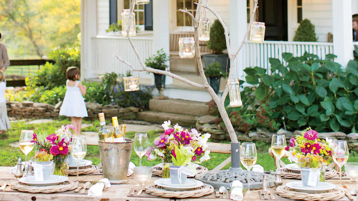 Virginia Farmhouse Summer Party