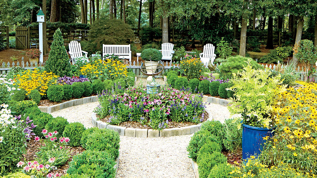 Inspiring North Carolina Garden