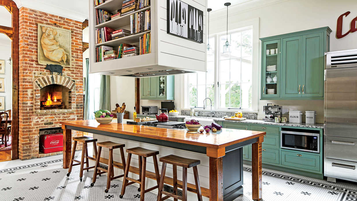 Southern Living Kitchens Southern Chefs Kitchen Southern Living
