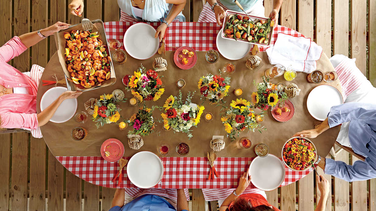Seafood Dinner Party Ideas Part - 48: Southern Living
