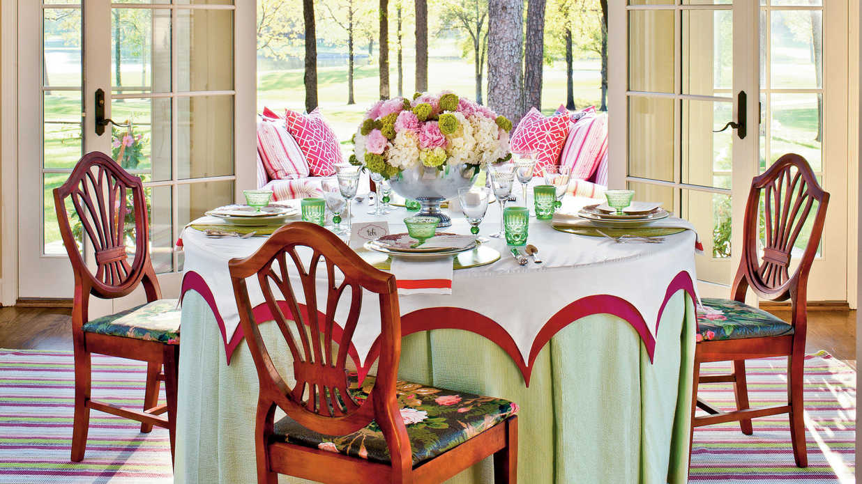 summer table setting ideas southern living