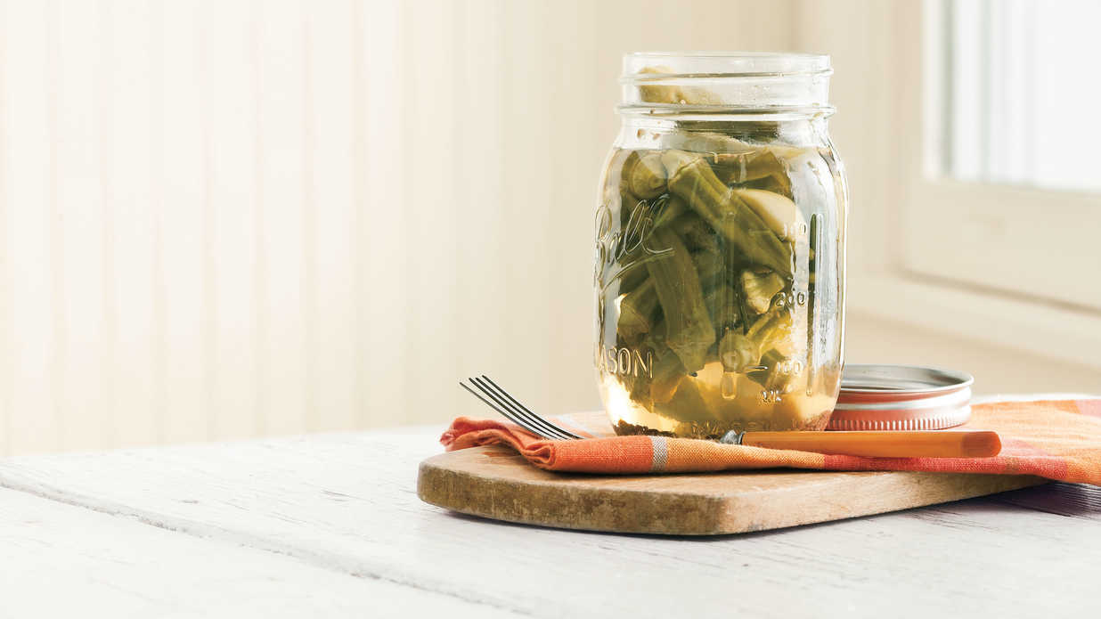 Pickled Okra 12 Best Okra Recipes Southern Living