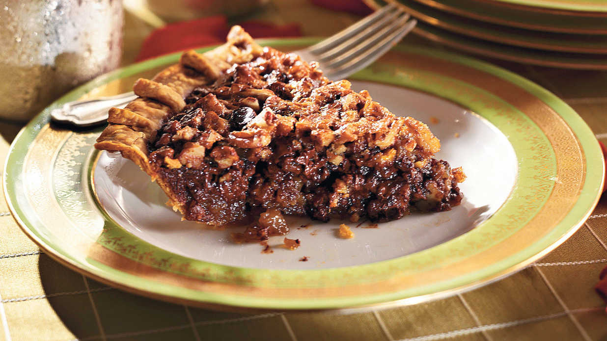 Chocolate Bourbon Pecan Pie Classic Pecan Pie Recipes
