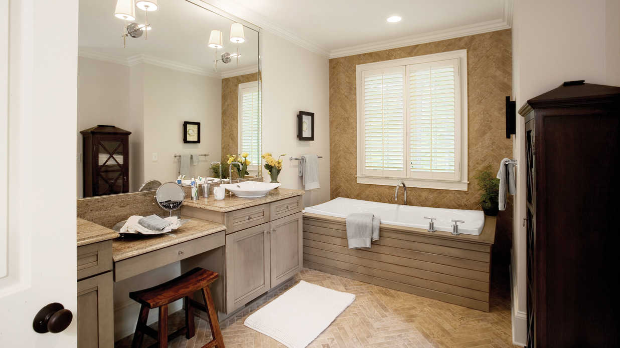 Design A Modern Tub Surround 65 Calming Bathroom