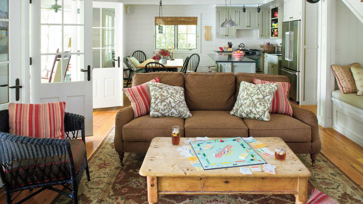 Design for real life use 106 living room decorating - Southern living living room photos ...