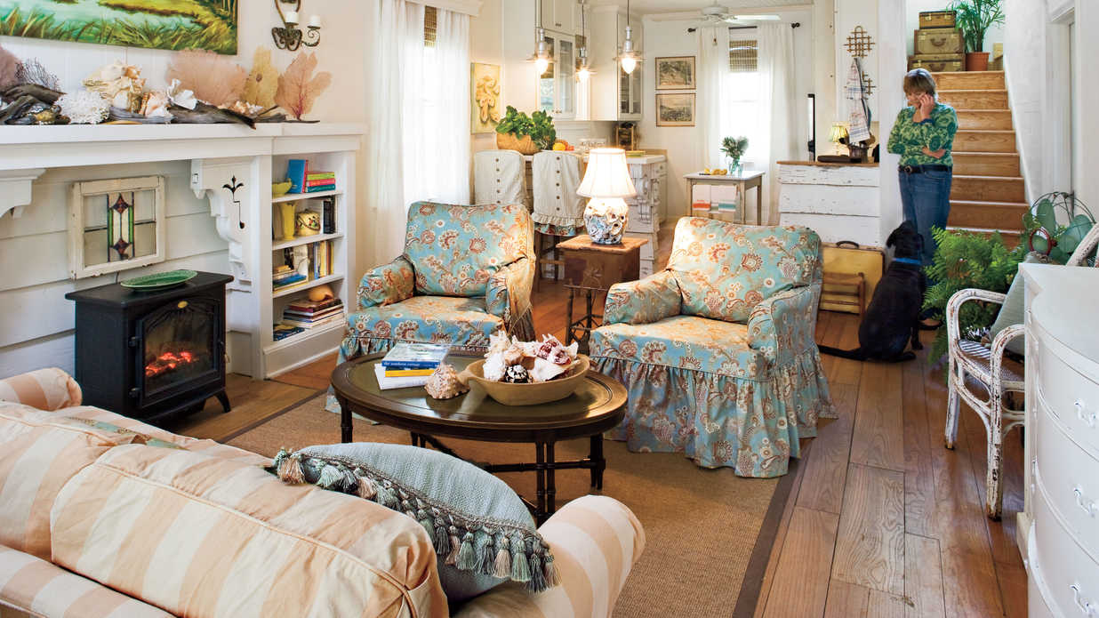 Slipcover in Style - 106 Living Room Decorating Ideas ...