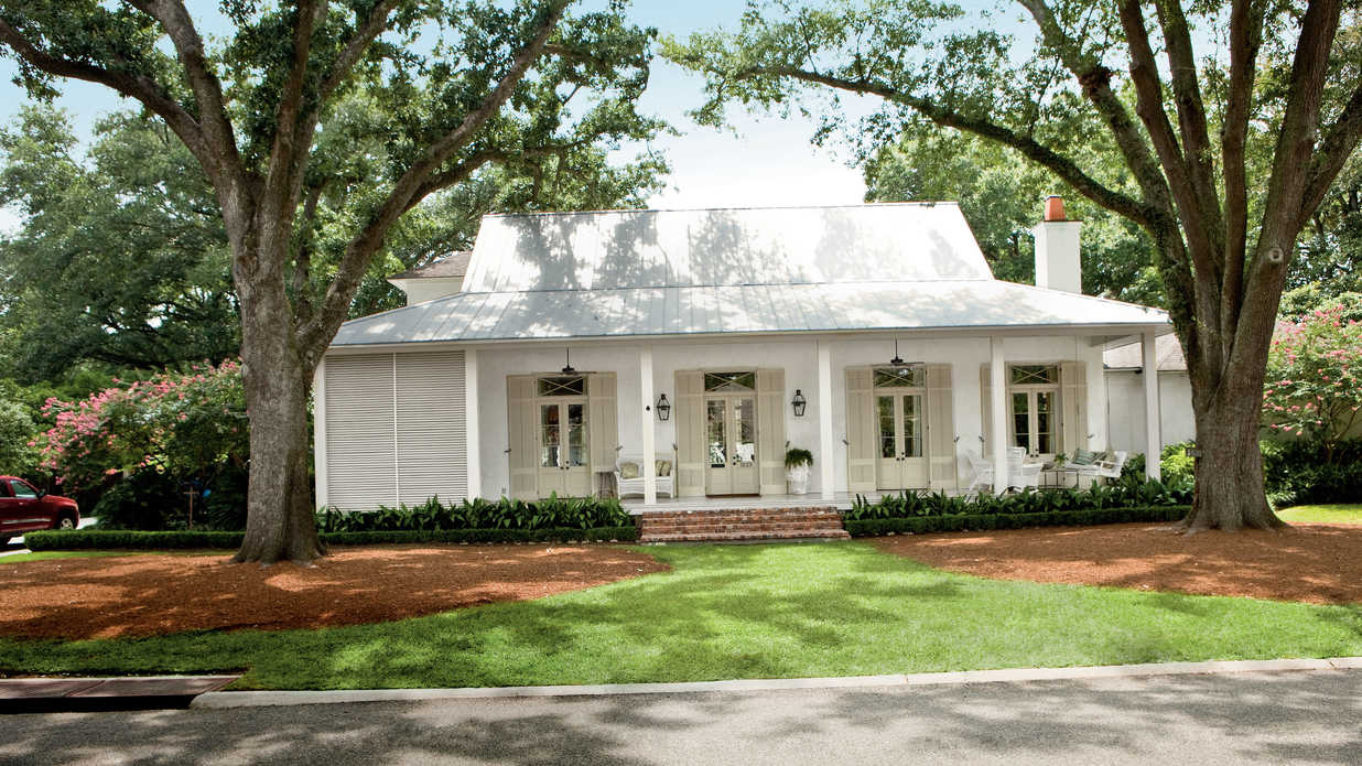 Classic southern home southern living - Southern living house plans one story ideas ...