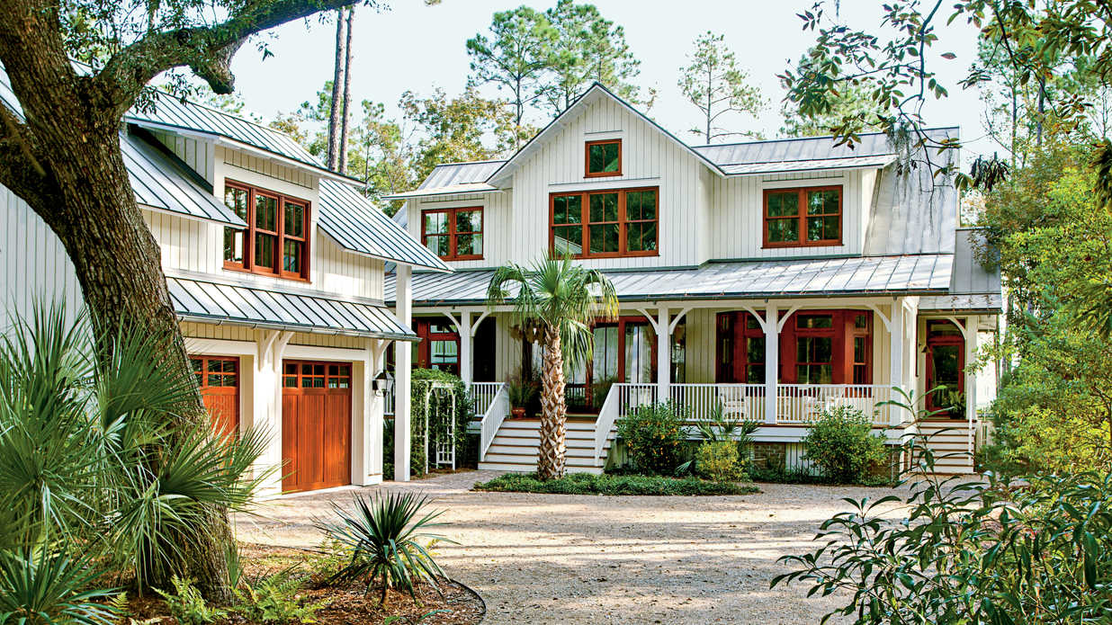 Lowcountry style house southern living Southern living builders