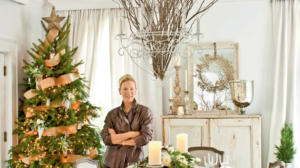 Christmas Party Ideas: Elegant Dinner Party - Southern Living