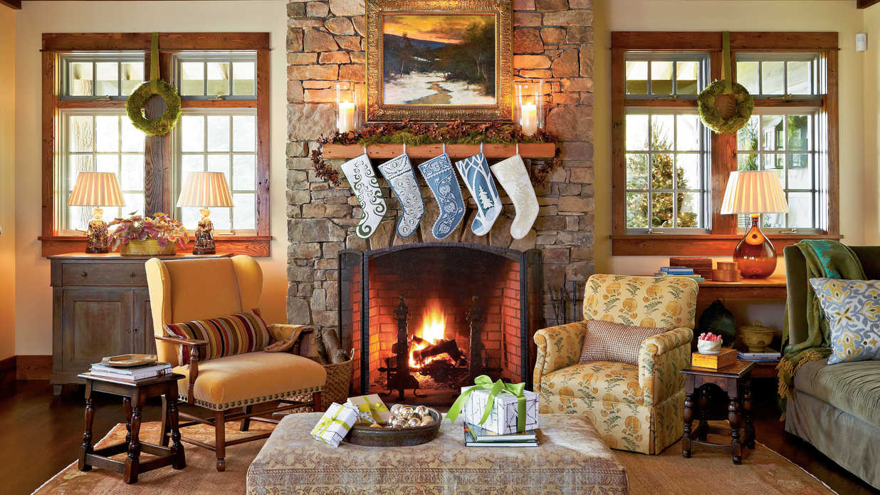 christmas living room pictures tour of homes southern living 17064