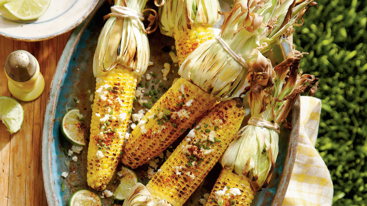 Grilled Cheesy Corn-On-The-Cob Recipes — Dishmaps