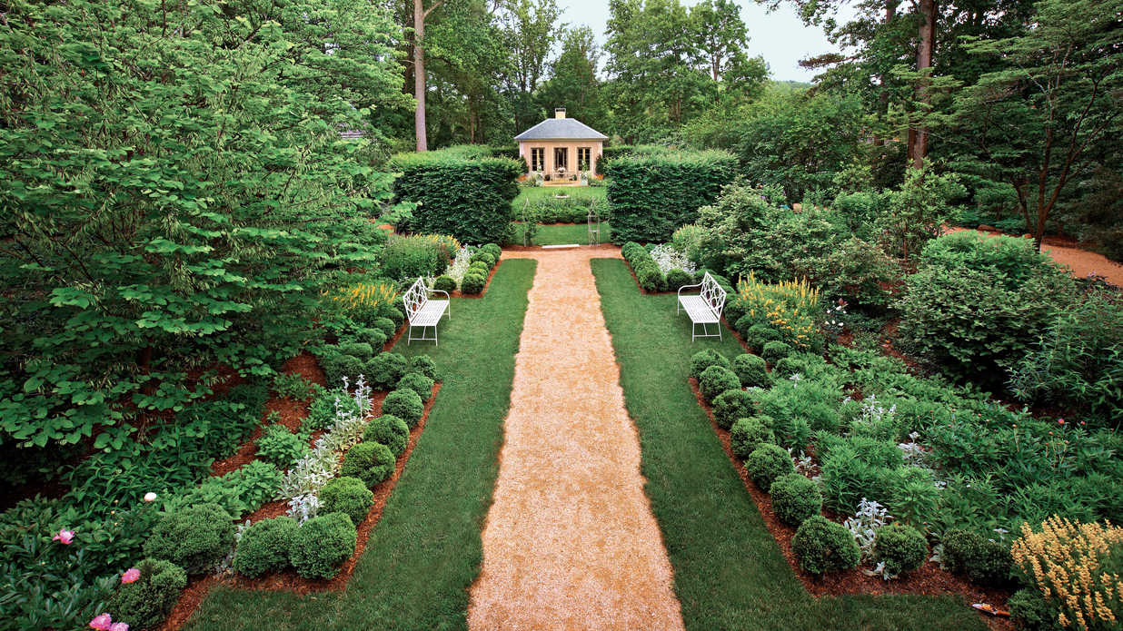 Classical Virginia Garden Southern Living