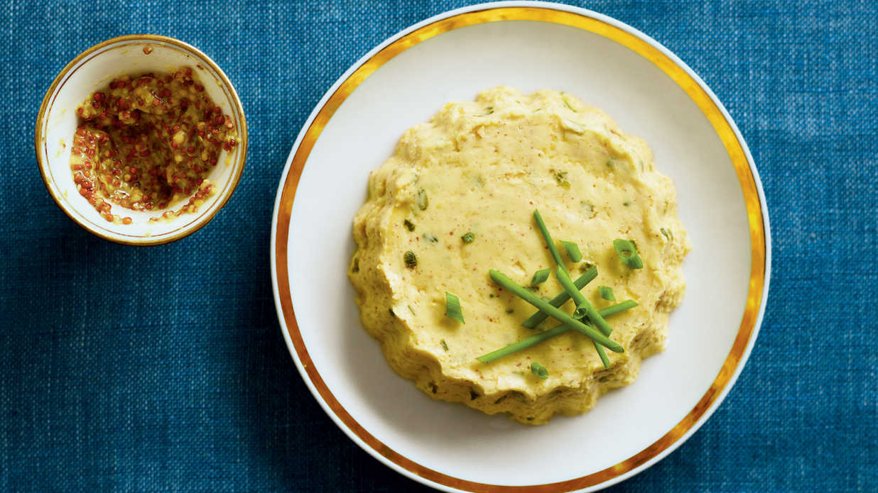 Mustard-Chive Butter - 6 Fancy Flavored Butter Recipes - Southern Living