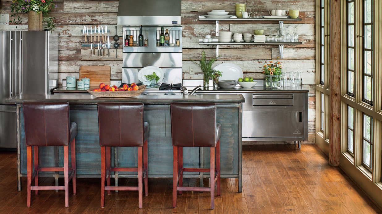 Southern Living Kitchens Rustic Lake House Kitchen Kitchen Inspiration Southern Living