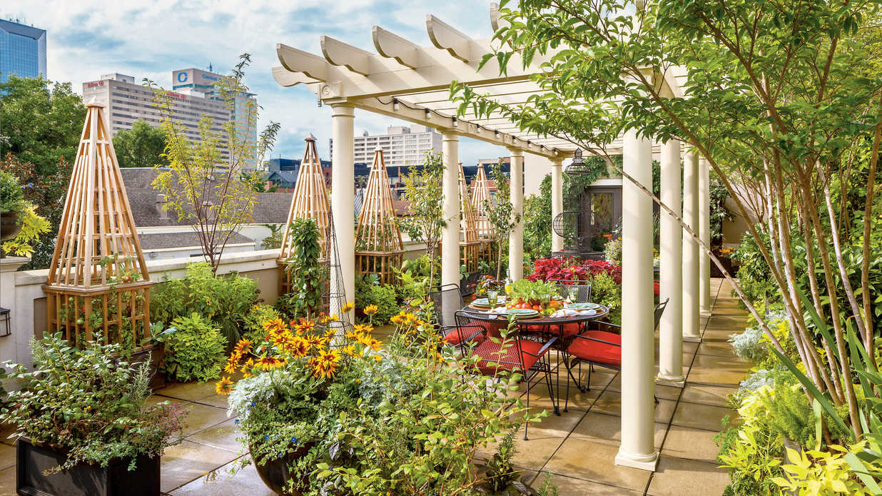Urban Rooftop Garden Southern Living