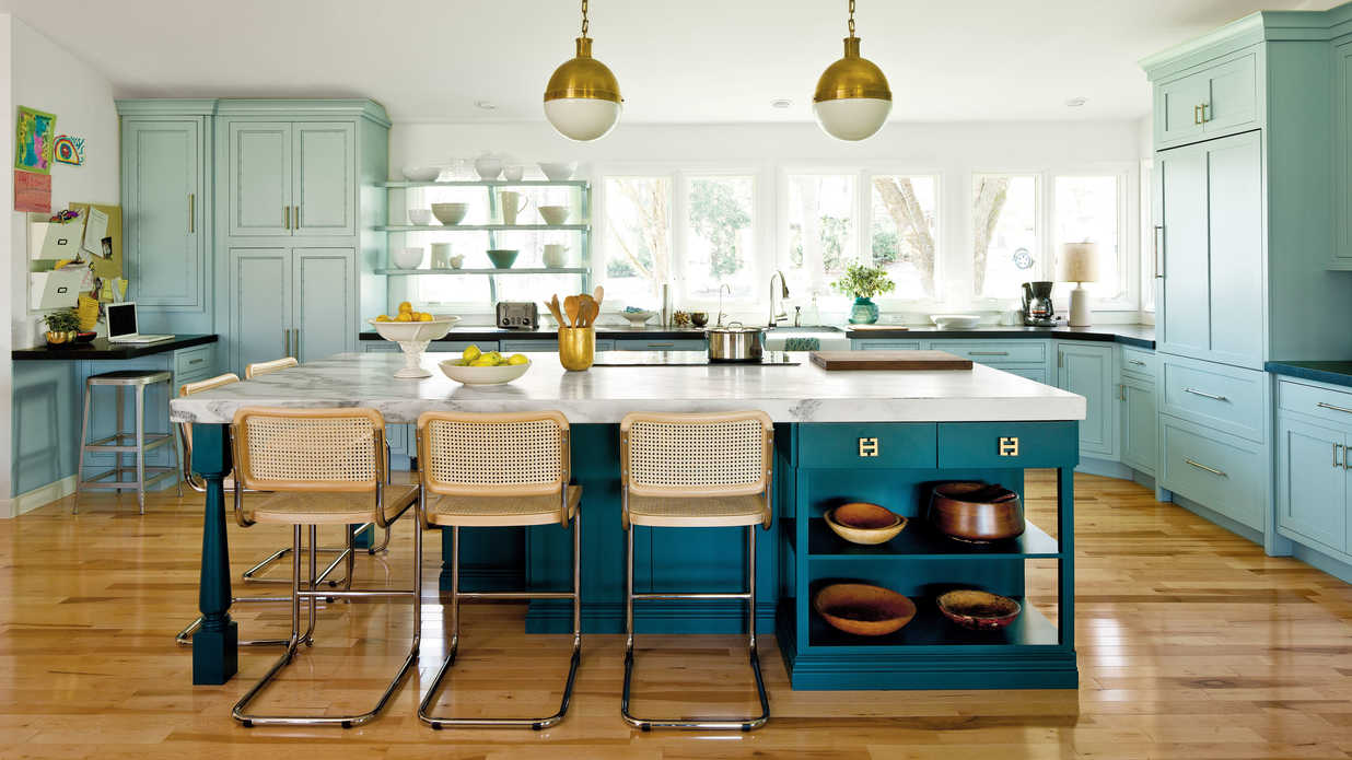 Southern Living Kitchens Modern Family Kitchen Southern Living