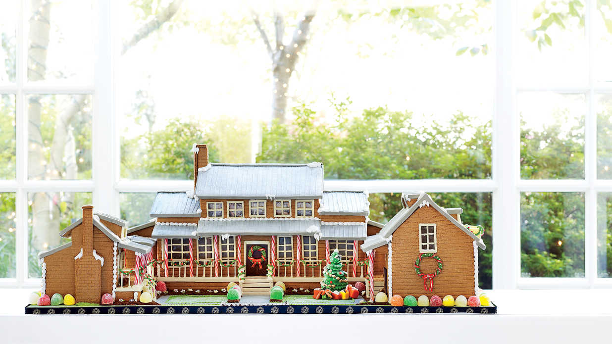 The Ultimate Gingerbread House