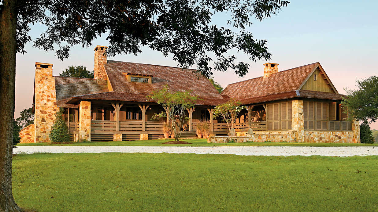 Ranch house remodel southern living - What is a ranch house ...
