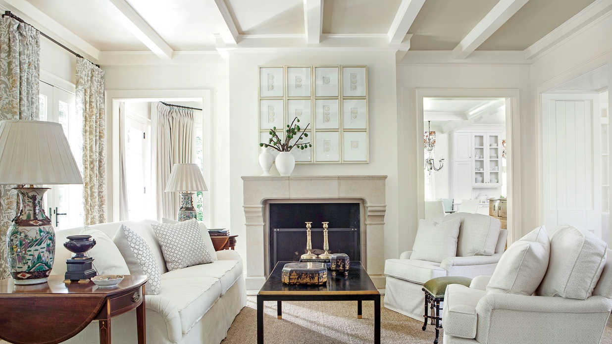 Lighten Up With White 106 Living Room Decorating Ideas