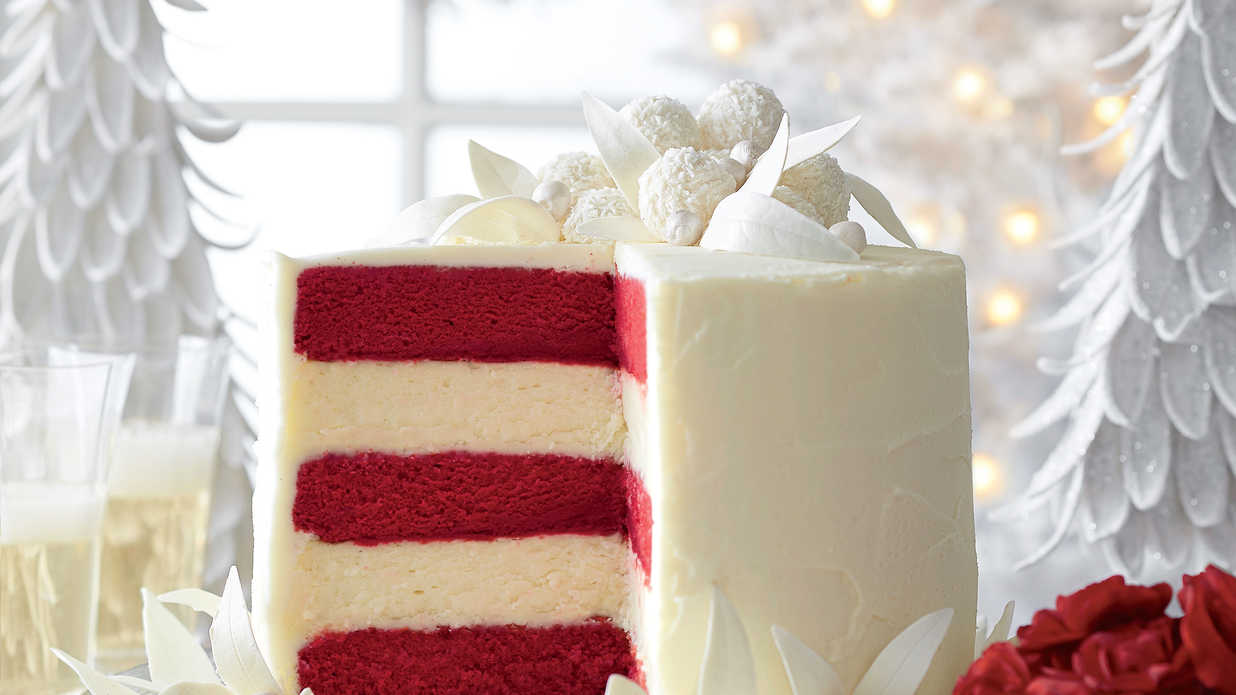 Make a Spectacular Holiday Cake Garnish