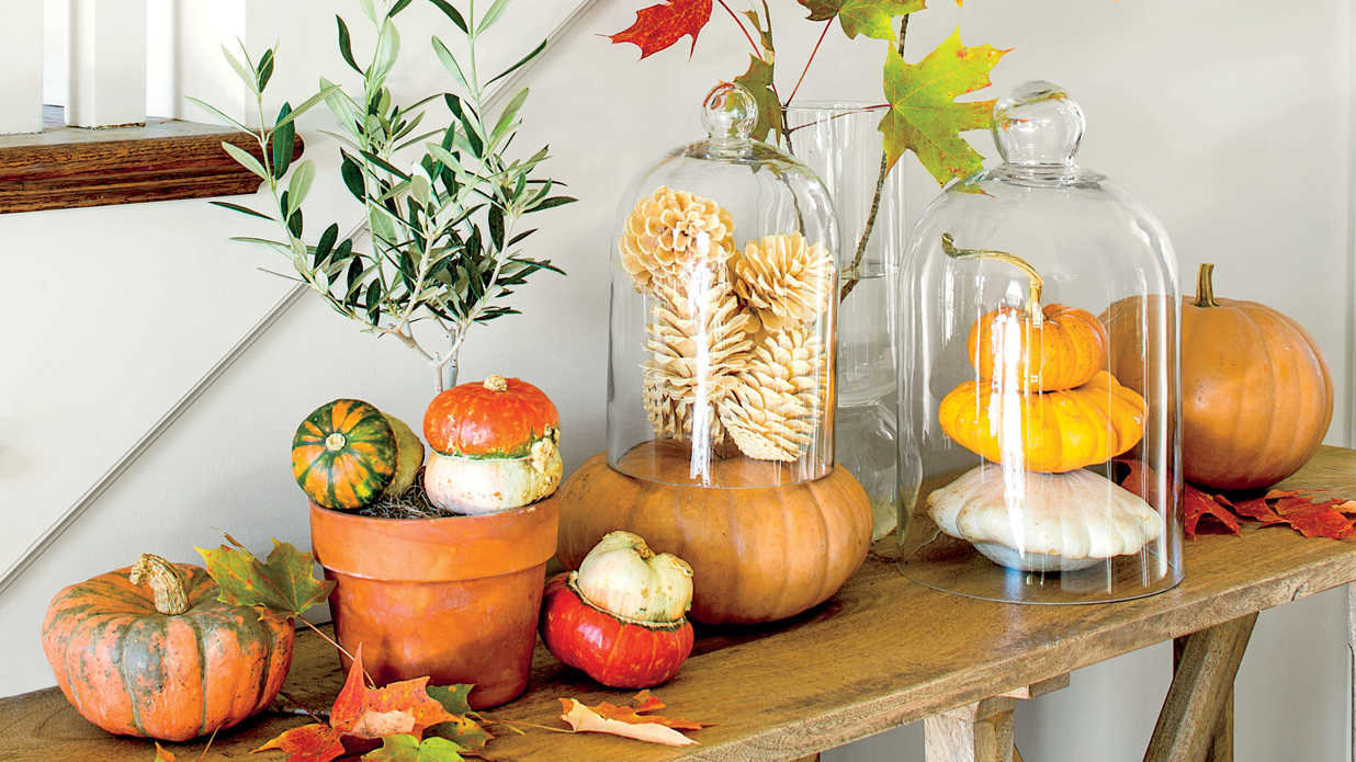 easy pumpkin decorating ideas southern living - Pumpkin Decor