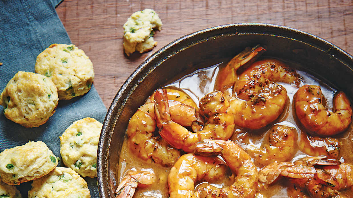 Easy Barbecue Shrimp October 2015 Recipes Southern Living