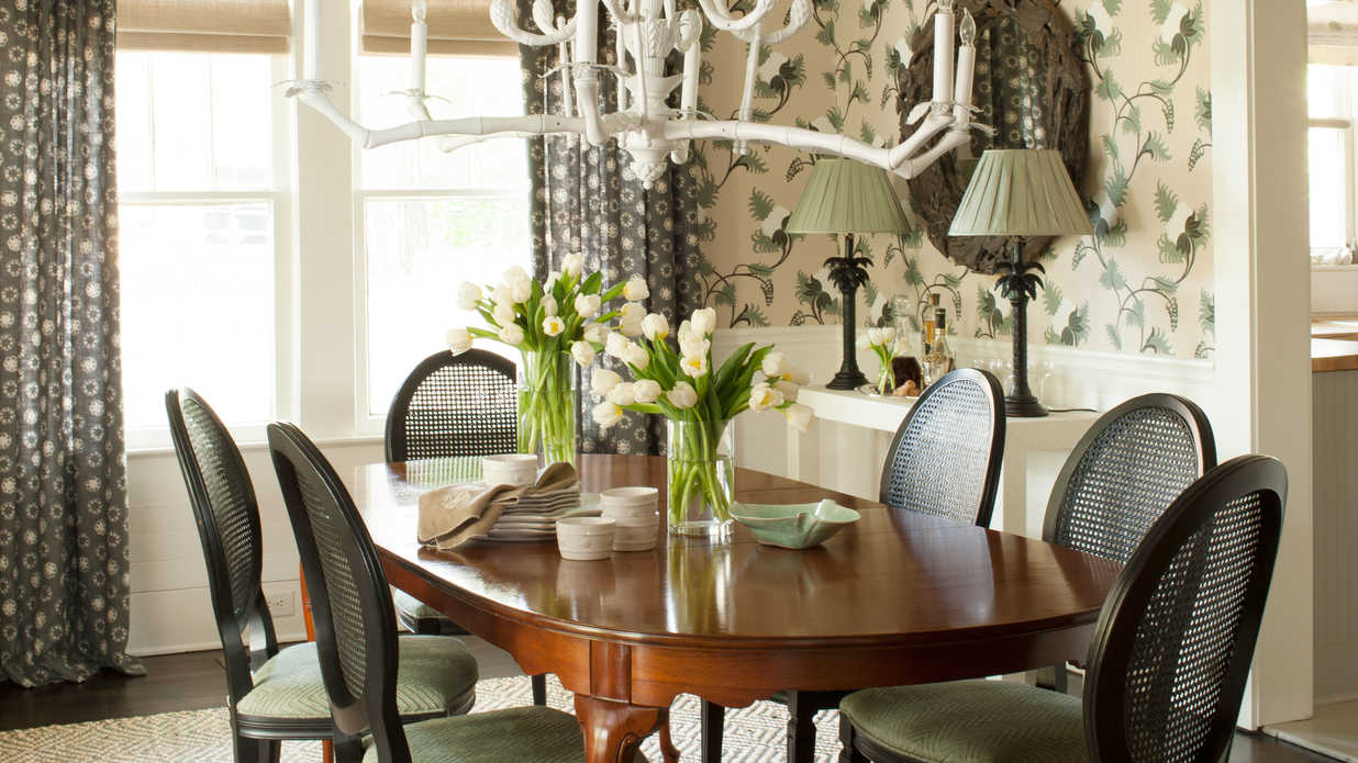 Repeat A Motif Stylish Dining Room Decorating Ideas