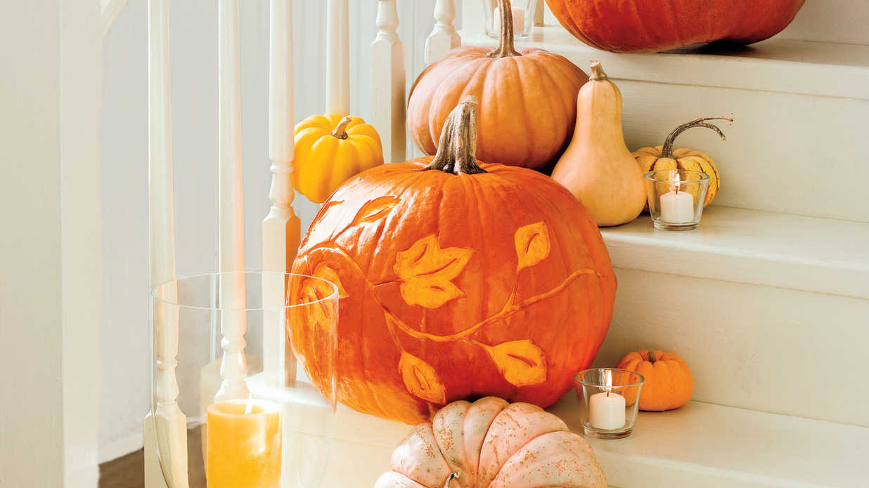 How To Etch A Pumpkin Southern Living