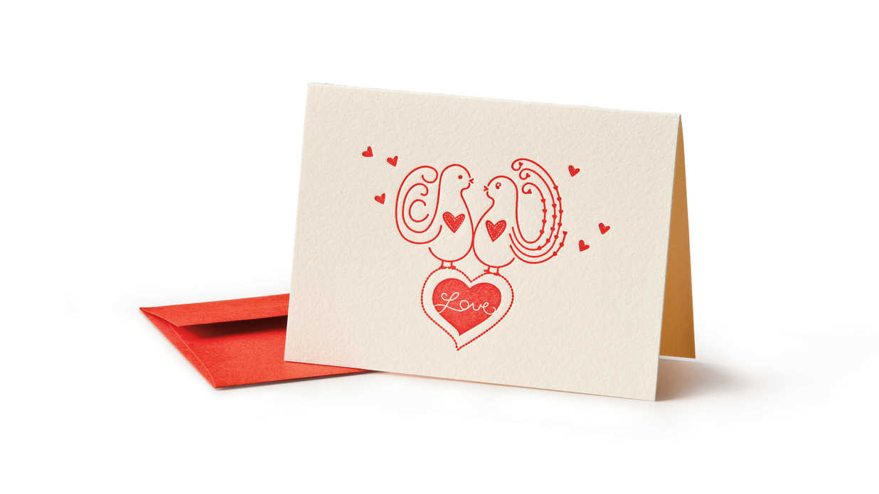 Love Birds Card Southern Made Valentines Day Gifts