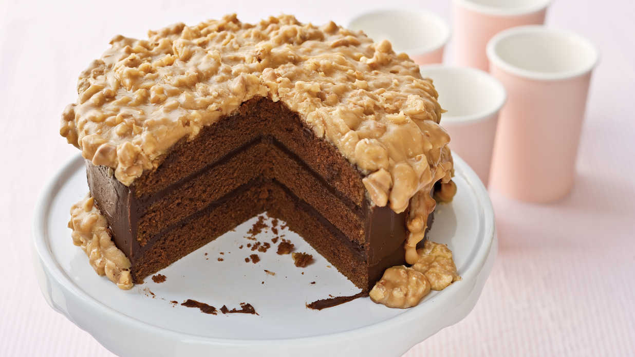 Southern Chocolate Layer Cake Recipe