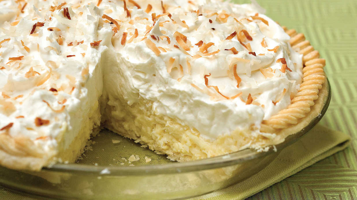 Old Fashioned Southern Coconut Custard Pie